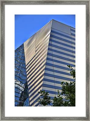 Skyscraper Abstract 4 Framed Print by Allen Beatty