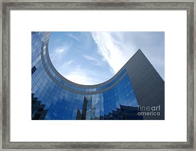Skyscraper Framed Print by Michal Bednarek