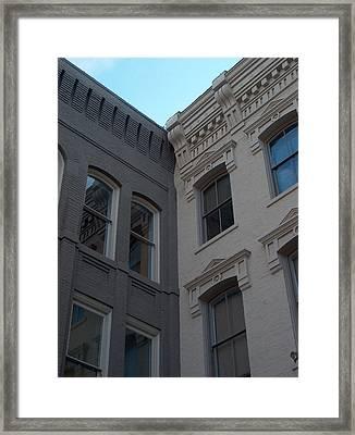Skyscrapers Framed Print by Brandon Addis