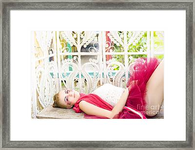 Sleeping Beauty Framed Print by Jorgo Photography - Wall Art Gallery