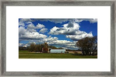 Slice Of Heaven Framed Print by Joel Rams