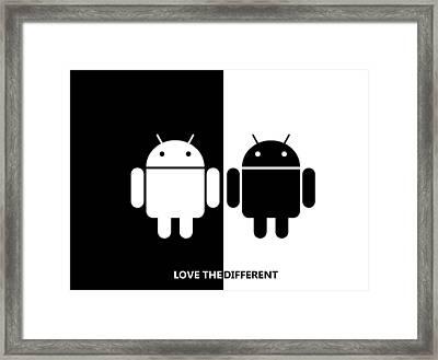 Slogan2 Framed Print by Ernesto Cinquepalmi