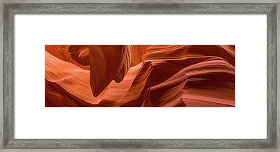 Slot Canyon, Lower Antelope Canyon Framed Print