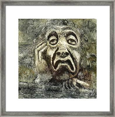 Sloth Framed Print by Suzette Broad