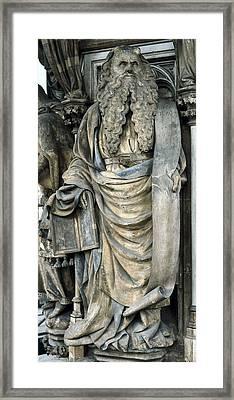 Sluter, Claus 1340-1406. The Well Framed Print