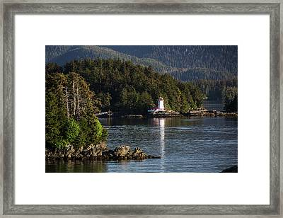 Small Islands Populated By Sitka Spruce Framed Print