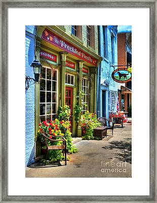 Small Town America 4 Framed Print by Mel Steinhauer