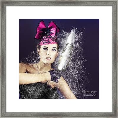 Smashing Party Framed Print by Jorgo Photography - Wall Art Gallery