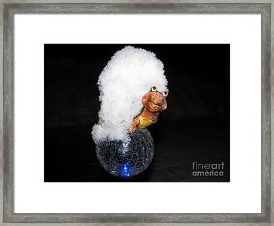 Smile Framed Print by Leone Lund