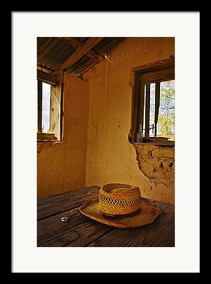 Terlingua Texas Framed Prints
