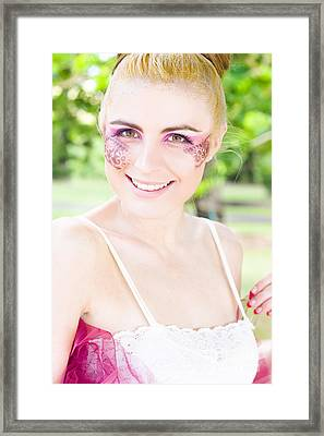 Smiling Ballerina Framed Print by Jorgo Photography - Wall Art Gallery