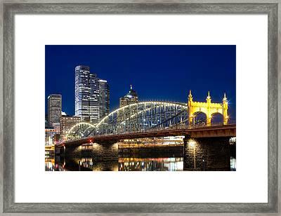 Smithfield Street Bridge Framed Print