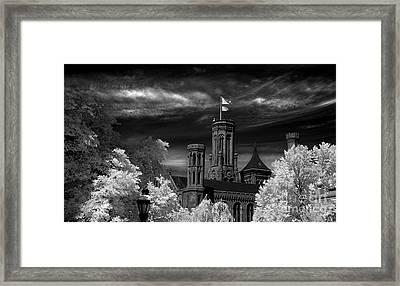 Smithsonian Castle Framed Print by Mike Kurec