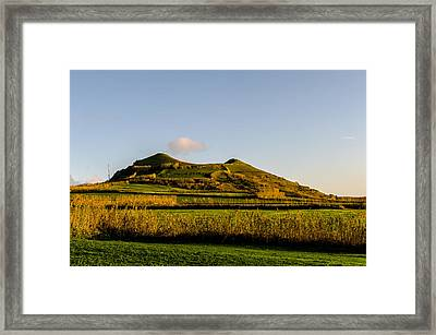 Smoke On The Top Framed Print