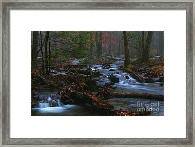 Smoky Mountain Color Framed Print