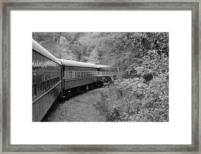 Framed Print featuring the photograph Smoky Mountian Escape by Cathy Shiflett
