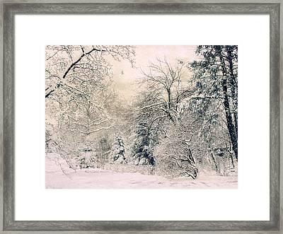 Snow White Framed Print by Jessica Jenney
