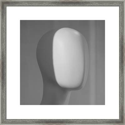 Soap In My Mind Framed Print