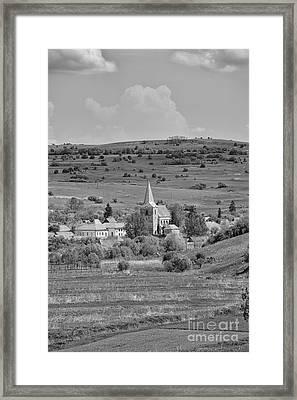 Soars Village Framed Print by Gabriela Insuratelu