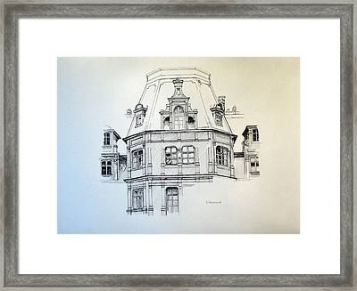 Sobanski Palace Framed Print by Nel Kwiatkowska