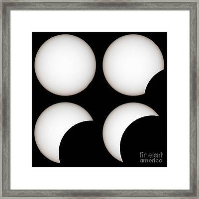 Solar Eclipse Framed Print by Laurent Laveder