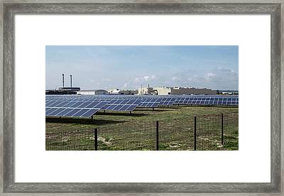 Solar Park Framed Print
