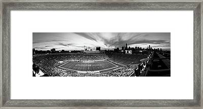 Soldier Field Football, Chicago Framed Print by Panoramic Images