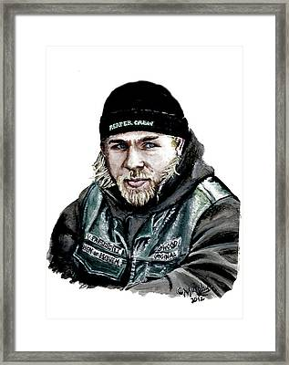 Son Of A Son Framed Print by Charles Murphy