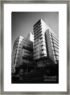 sonda it company headquarters Santiago Chile Framed Print by Joe Fox