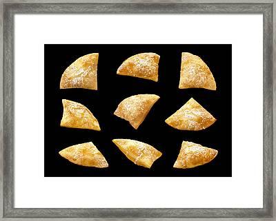 Sopapillas Framed Print by Danny Smythe