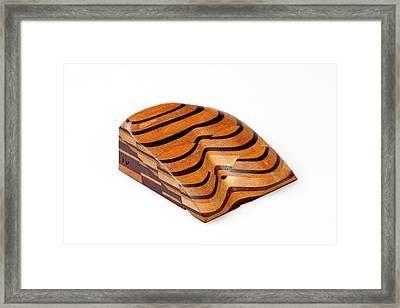 Sopwith Model Iv: Coal Seam Outcrops Framed Print