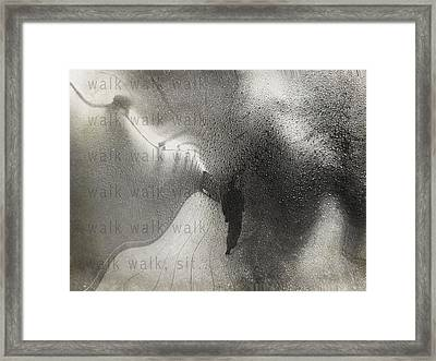 Sore Feet  Framed Print