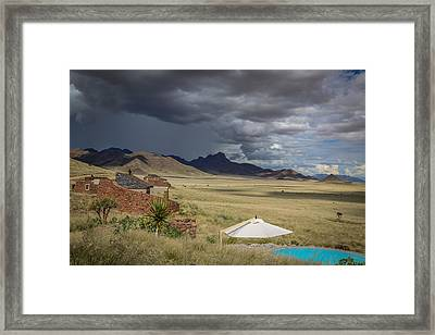 Sossusvlei Desert Lodge Framed Print