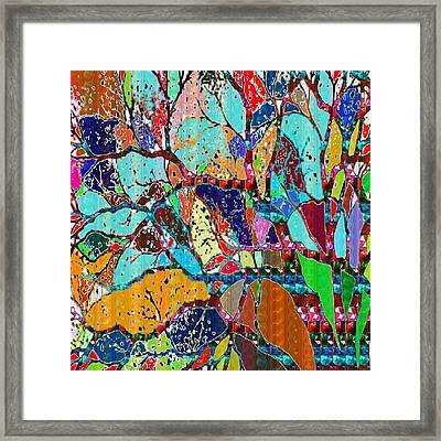 Soul Of A Tree Abstract  Navinjoshi  Rights Managed Images Graphic Design Is A Strategic Art Meaning Framed Print by Navin Joshi