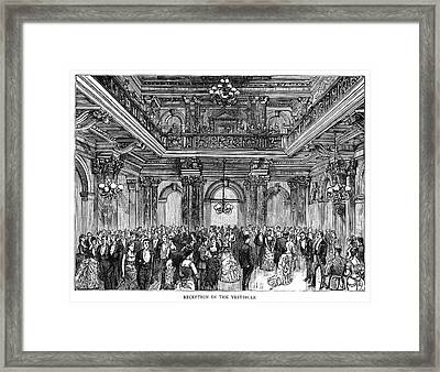 South Africa Parliament Framed Print by Granger