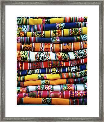 South America, Peru, Near Cusco Framed Print by Jaynes Gallery