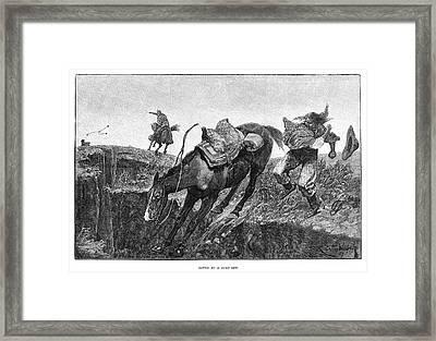 South American Hunter Framed Print by Granger