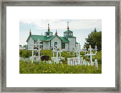 South-central Alaska, Kenai Peninsula Framed Print