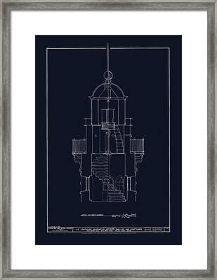 South Manitou Island Lighthouse Framed Print