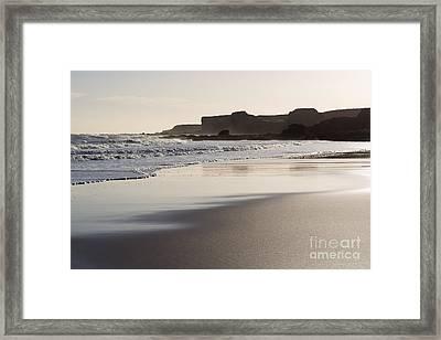 South Shields Beach Framed Print by Ray Pritchard