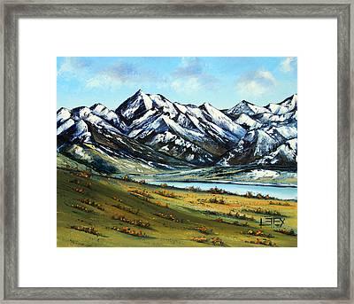 Southern Alps Framed Print