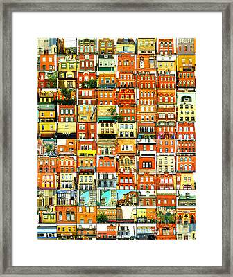 Southside Pittsburgh Framed Print