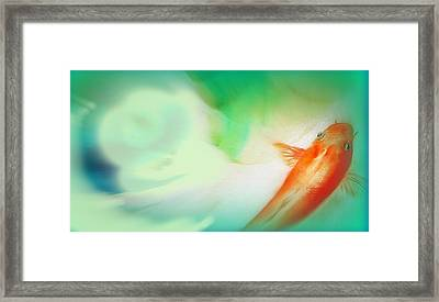 Spa Time Framed Print by Wendy Wiese