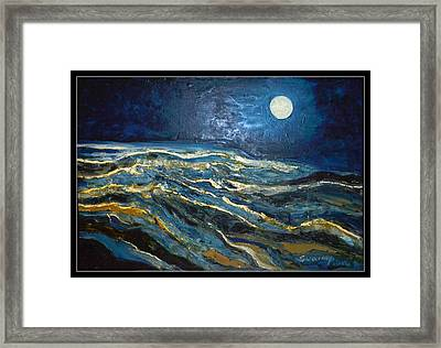 Space Abstraction-2 Framed Print by Anand Swaroop Manchiraju