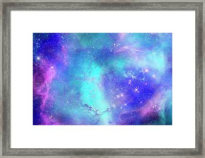 Space Art Framed Print by Carol & Mike Werner