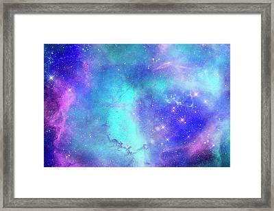 Space Art Framed Print by Carol & Mike Werner