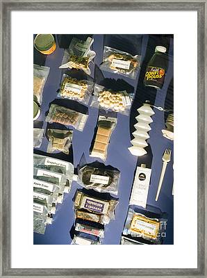 Space Food Framed Print by Mark Williamson