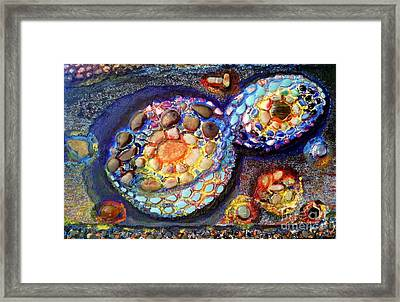 Space Framed Print by Mariyn Atanasov