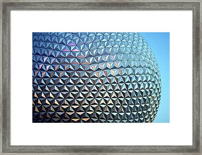 Framed Print featuring the photograph Spaceship Earth by Cora Wandel