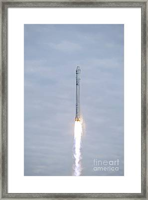 Spacex Crs-2 Launch, March 2013 Framed Print by Nasa